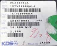 供应DSA321SCA 26.000MHZKDS晶振 VC-TCXO 原装现货 可看货