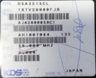 供应DSA321SCL  26.000MHzKDS晶振 原装现货 可看货 N2B048
