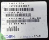 供应DSB321SDA  26.000MHzKDS石英振荡器 TCXO晶振 26MHZ 可看货
