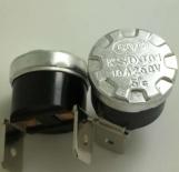 供应KSD301 10A250V 5°大电流温控开关KSD301 5°功率温控器 原装现货