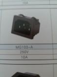 供应MG103-A(插座黑色)插座MG103-A,品质第一,厂家直销!!!