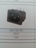 供应MG103-B(插座黑色)插座MG103-B,品质第一,厂家直销!!!