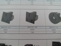 供应MG107-B(插座黑色)插座MG107-B,品质第一,厂家直销!!!