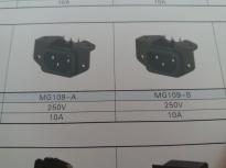 供应MG109(插座黑色)插座MG109,品质第一,厂家直销!!!