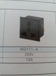 供应MG111-A(插座黑色)插座MG111-A,品质第一,厂家直销!!!