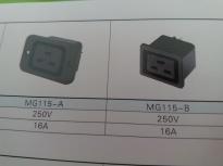 供应MG115(插座黑色)插座MG115,品质第一,厂家直销!!!