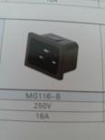 供应MG116-B(插座黑色)插座MG116-B,品质第一,厂家直销!!!