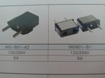 供应MG601-B(插座黑色)插座MG601-B,品质第一,厂家直销!!!