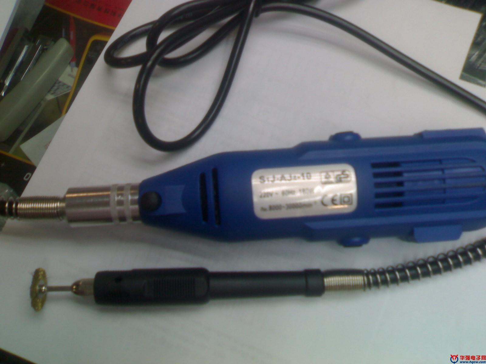 电磨头接线图解