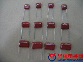 厂家金属薄膜电容CL21X   63V224J  0.22UF 220NF