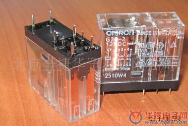 欧姆龙继电器 g2r-2 48vdc