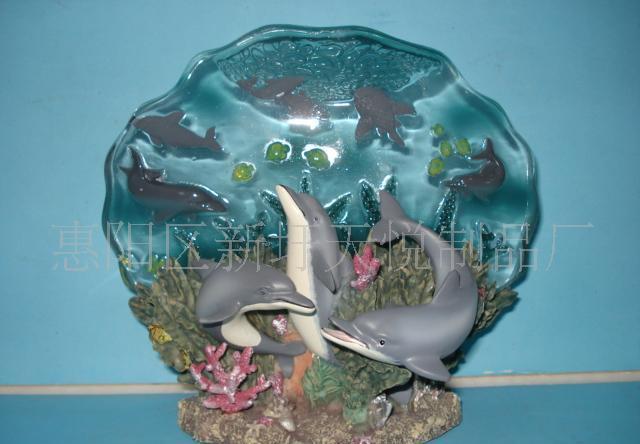 供应透明海豚led灯