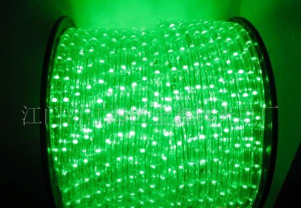 供应led节能灯带,圆二线绿色亮化产品彩虹管,灯带