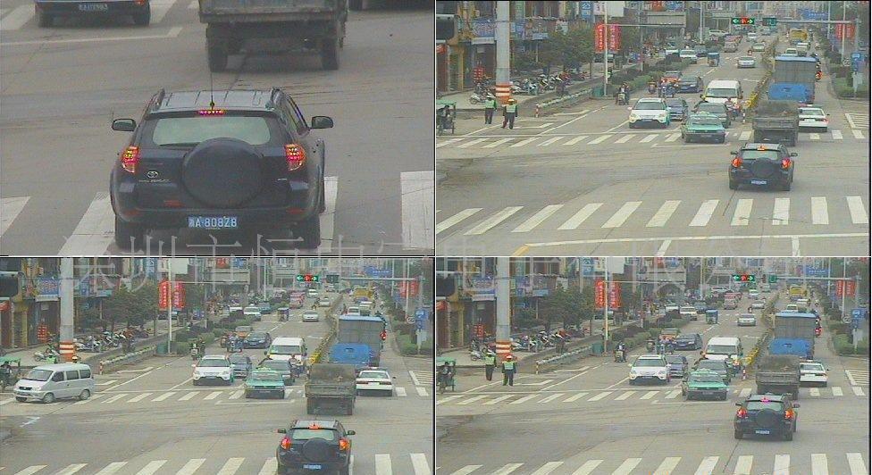 供应红绿灯路口道路监控全景摄像机