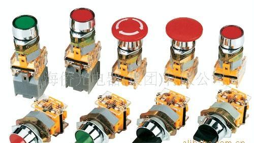 220v接住器按扭指示灯接线图