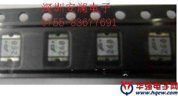 SMD1812P260TFT自恢復保險絲