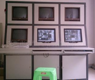 加工各种带电视墙操作台 一体式电视墙操作台
