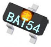 供应BAT54-13-F S