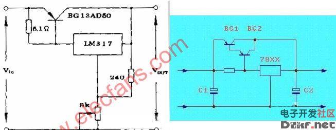 lm317电流放大电路