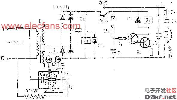 简易电孵箱电路图
