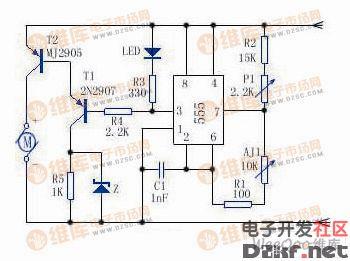 简单的电机调速电路设计