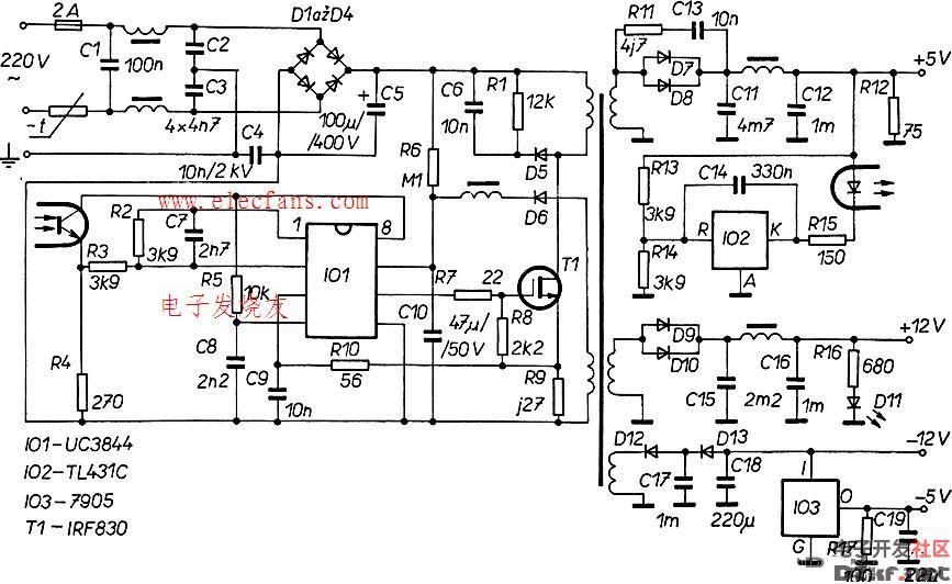 uc3845应用电路图片