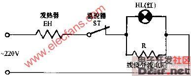 迪源ntk-35d调温电熨斗电路图图片