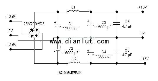 单端甲类功放电路,单端纯甲类功放电路 输出功率20W 50W