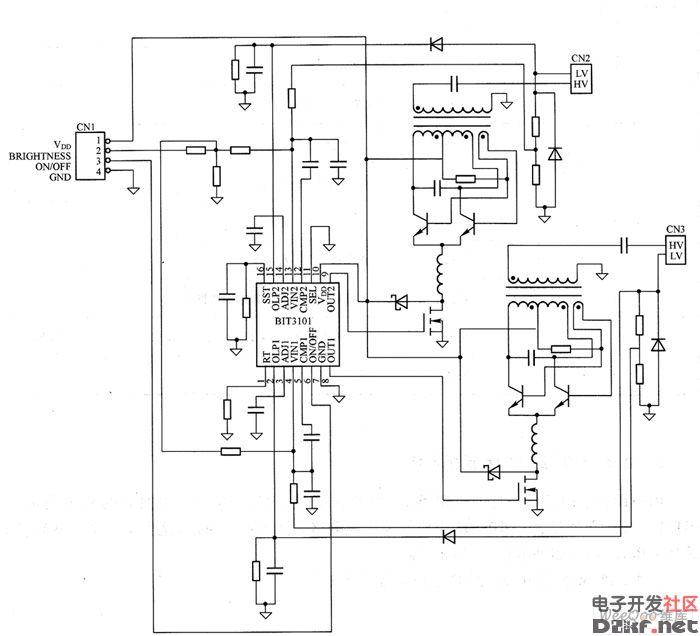 """""""pwm控制ic rover结构驱动电路""""高压板"""