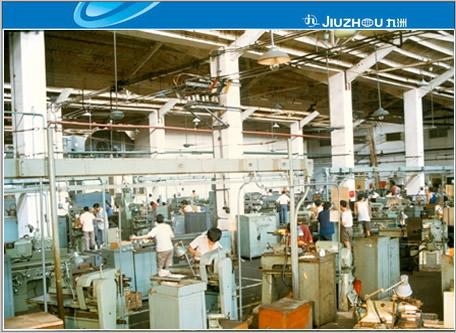 八十年代二车间机加生产线