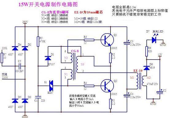 开关电源结构分析