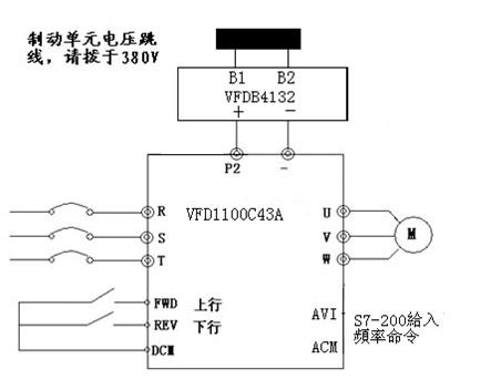 主卷扬钩变频器接线