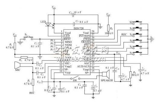 基于单片机的数码语音温度计设计图片