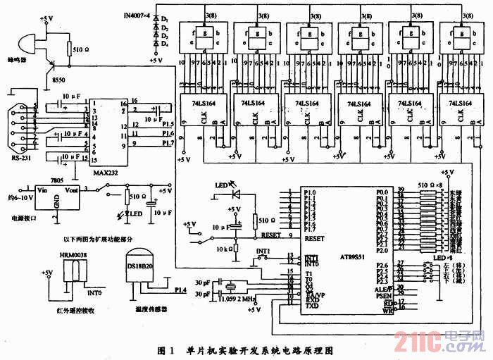 采用在系统编程(isp)的方法,利用at89s51芯片设计了一种单片机实验