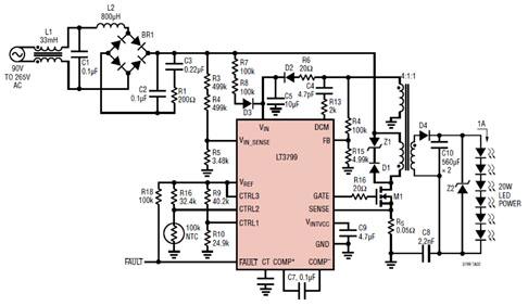 脱机式驱动瓶颈突破 家用led照明系统可靠性大增