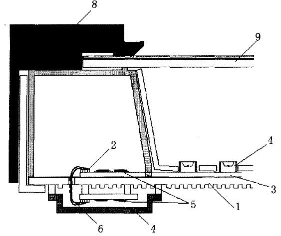 图8 背光源的整体结构图
