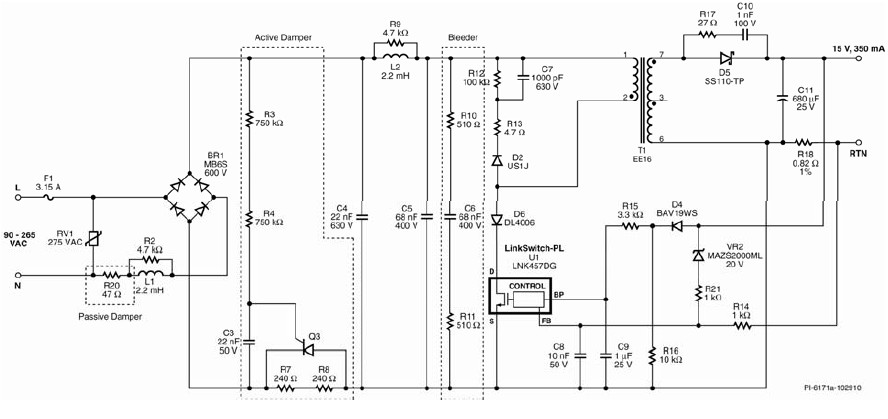 5wled驱动电路原理图图片