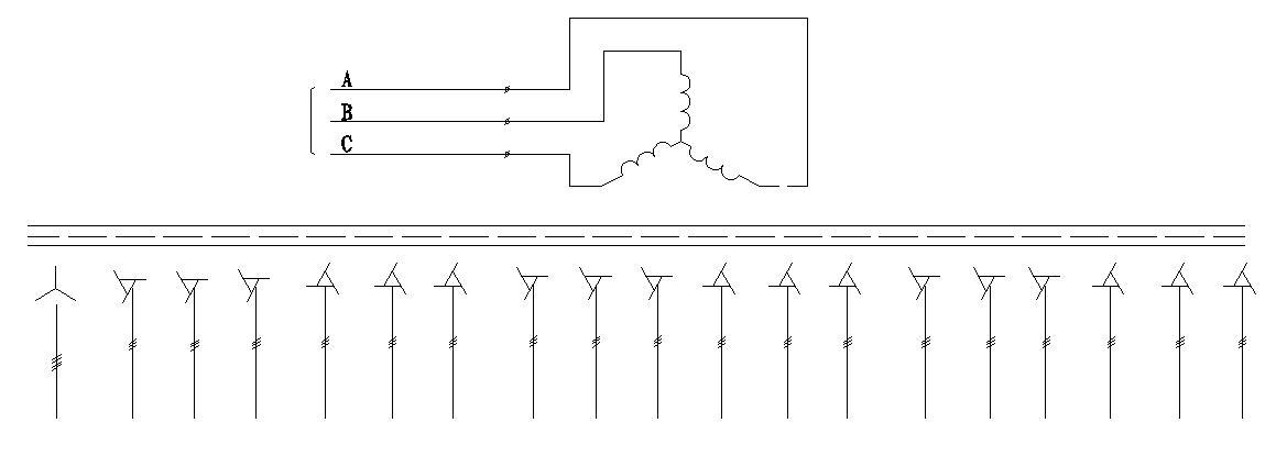 移相整流变压器电气原理图