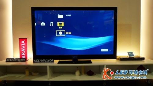索尼發布2010年液晶電視新品 首款60寸led亮相