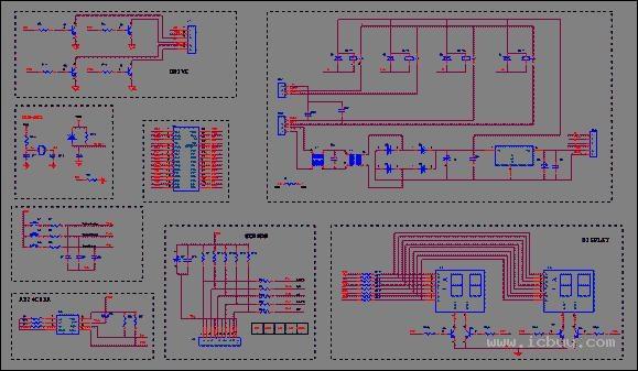 主控板主要由单片机,传感器组,压缩机控制电路,电磁阀控制电路,显示图片