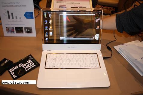 三星一年內推出透明amoled筆記本電腦圖片