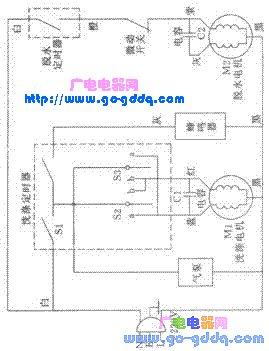 62s洗衣机电路图