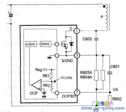 长虹液晶彩电gp09主开关电源电路原理分析