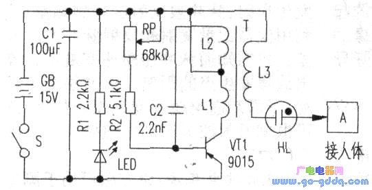 s8550 驱动电路