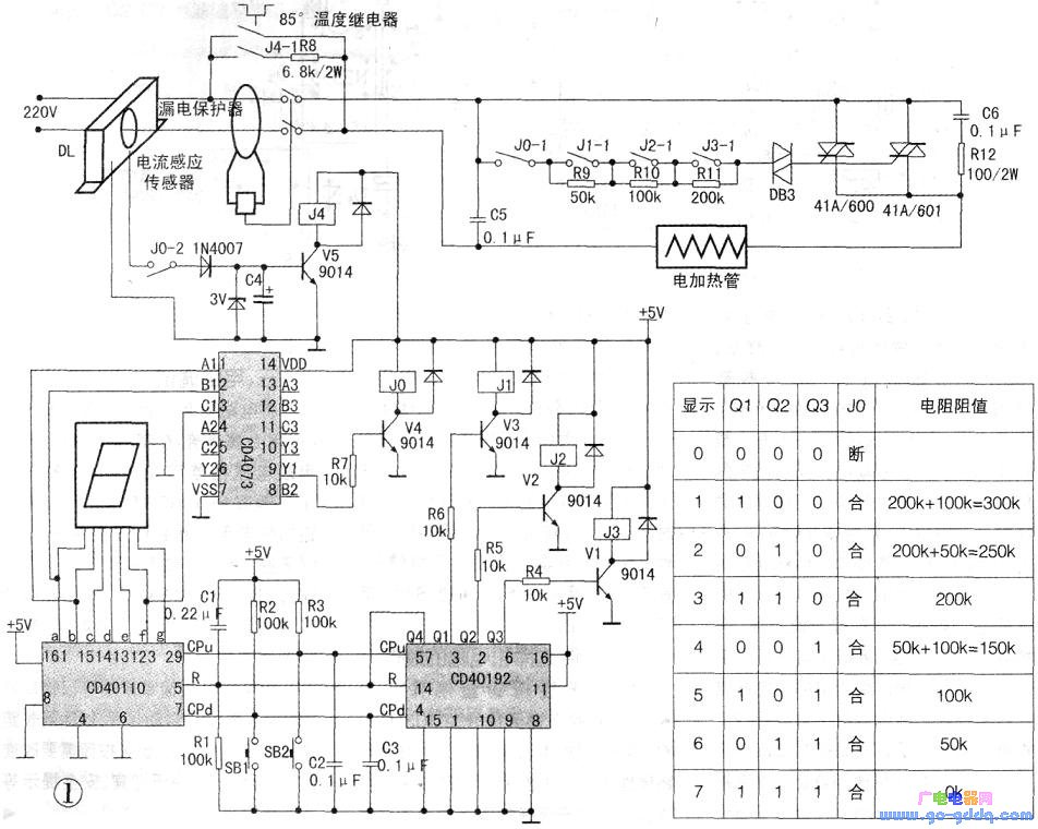 gm计数管电路图