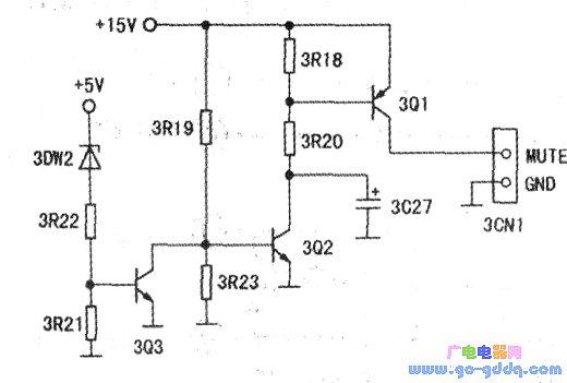 奇声7301型dvd机静噪电路工作过程