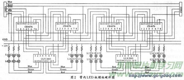 89c51的led彩灯控制器设计