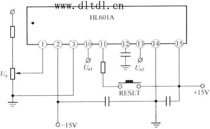 hl610a的典型应用接线图