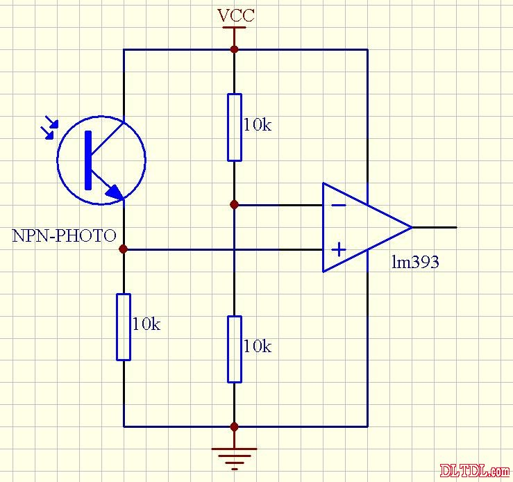 光电开关工作原理图-电路图
