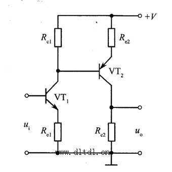 利用pnp管完成电平位移电路图